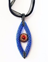 NEW Cleopatra Pendant - Sat 8th April 2017 10.30am to 4.30pm - Beadwork Class
